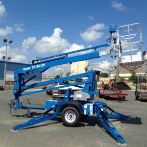 TZ34/20 Towable Genie Cherry Picker